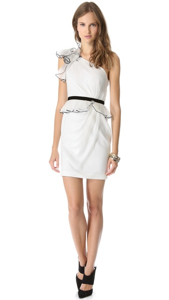 Notte by Marchesa One Shoulder Cocktail Dress