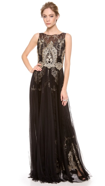 Notte by Marchesa Sleeveless Gown