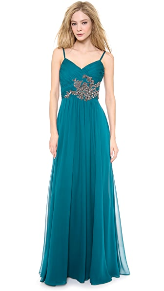 Notte by Marchesa Chiffon Gown