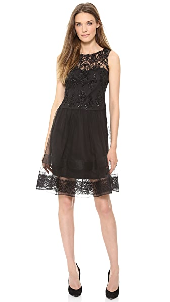 Notte by Marchesa Sleeveless Cocktail Dress