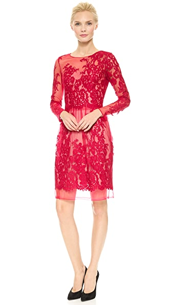 Notte by Marchesa Lace Cocktail Dress