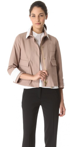 No. 21 Drawstring Stretch Jacket