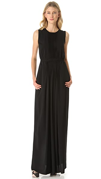 No. 21 Crepe Gown with Lace Back