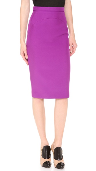 No. 21 Satin Neoprene Skirt