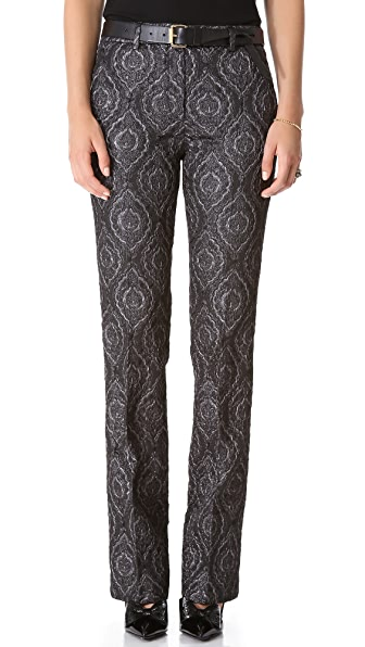 No. 21 Jacquard Pants