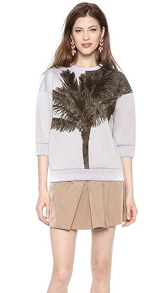No. 21 Sweatshirt with Palm Tree