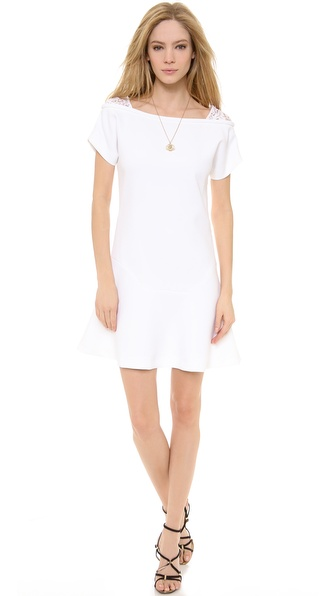No. 21 Short Sleeve Crepe Dress