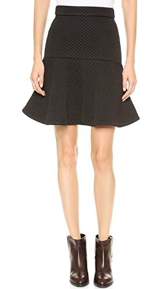 No. 21 Quilted Miniskirt