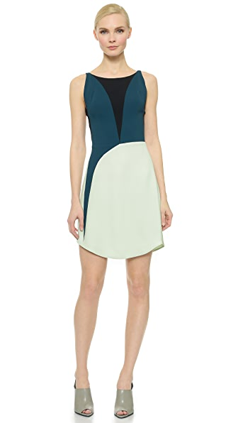 Narciso Rodriguez Sleeveless Dress - Green Multi
