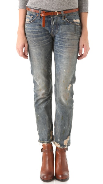 NSF Beck Oil Stained Relaxed Fit Jeans