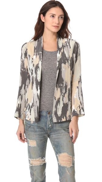 NSF Kimmie Print Blazer