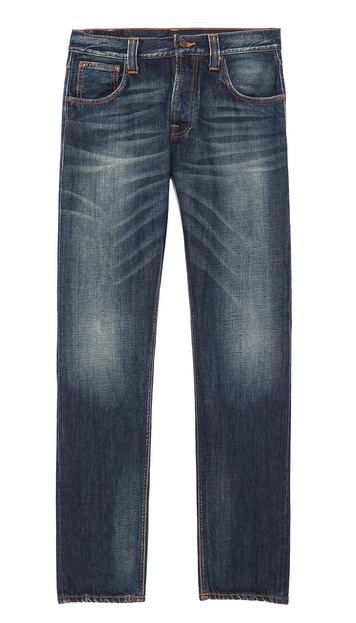 Nudie Jeans Co. Steady Eddie Whistle Blue Jeans