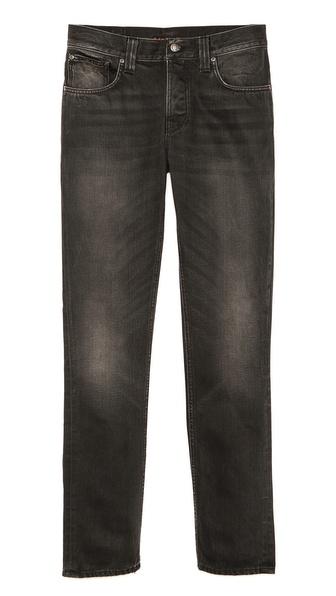 Nudie Jeans Co. Grim Tim Black Voyage Jeans