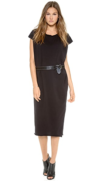 Oak Side Slit Box Dress
