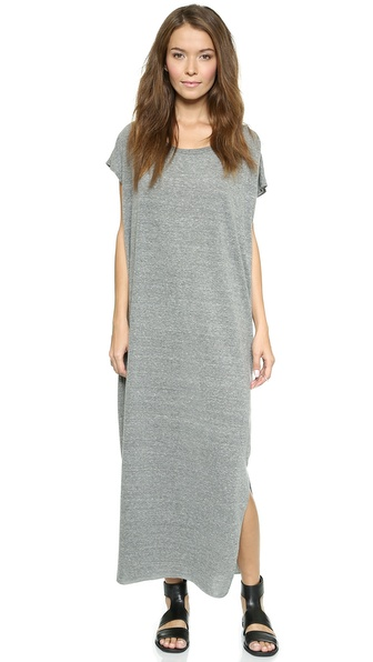 Oak Side Pleat Maxi Dress