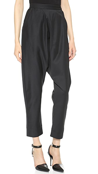 Oak Side Zip Harem Pants