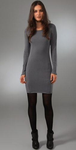 Obakki Raglan Fleece Dress