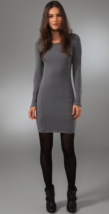 Obakki Raglan Fleece Dress