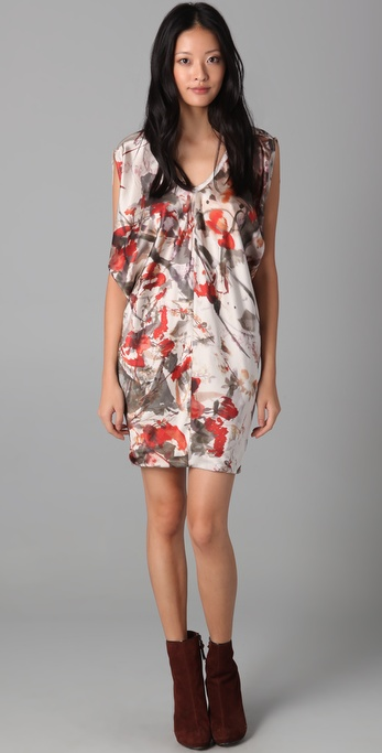 Obakki Brooke Sleeveless Printed Dress
