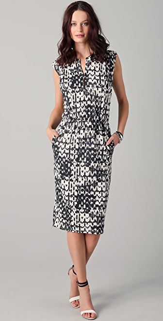 Obakki Lorelei Print Dress