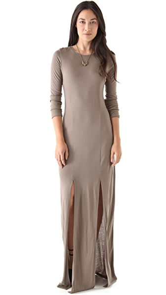 O by Kimberly Ovitz Anura Slit Maxi Dress