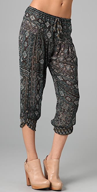 Of Two Minds Rimbaud Print Pants