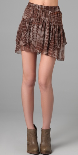 Of Two Minds Ikat Print Mamasita Skirt