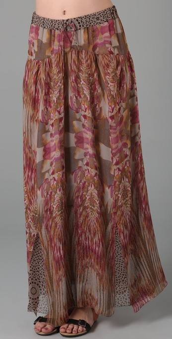 Of Two Minds Folklore Long Skirt