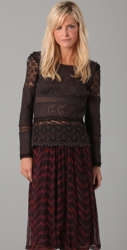 Of Two Minds Toka Lace Top