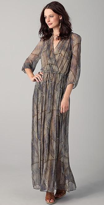 Of Two Minds Dyani Tribal Maxi Dress