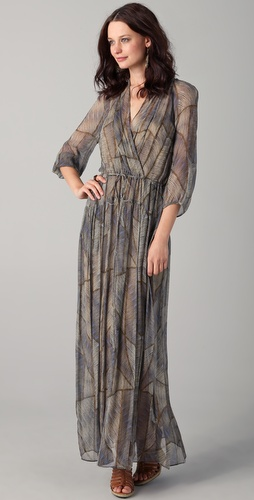 Of Two Minds Dyani Tribal Maxi Dress