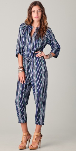 Of Two Minds Pennie Ikat Jumpsuit