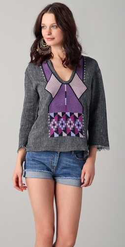Of Two Minds Tuan Tribal Top