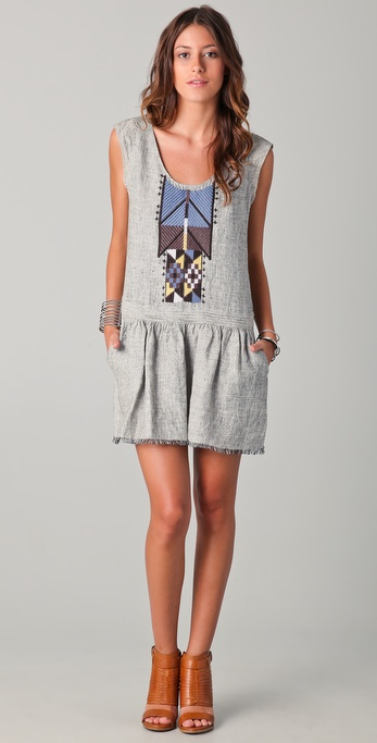 Of Two Minds Drea Tribal Dress