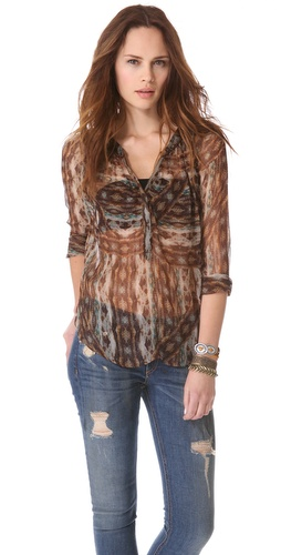 Of Two Minds Toshi Blouse