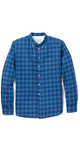 Officine Generale Japanese Twill Shirt