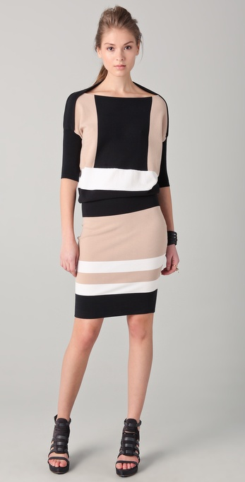 Ohne Titel Colorblock Knit Dress