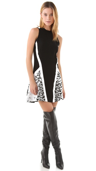Ohne Titel Print Banded Dress