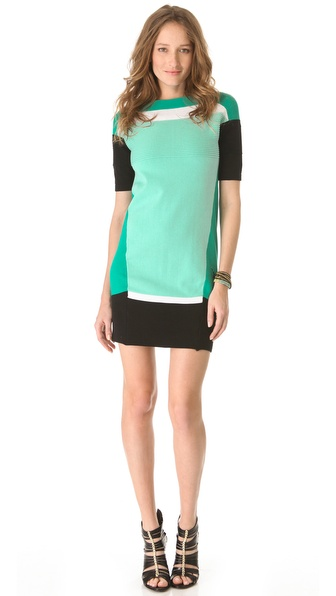 Ohne Titel Colorblock Sweater Dress