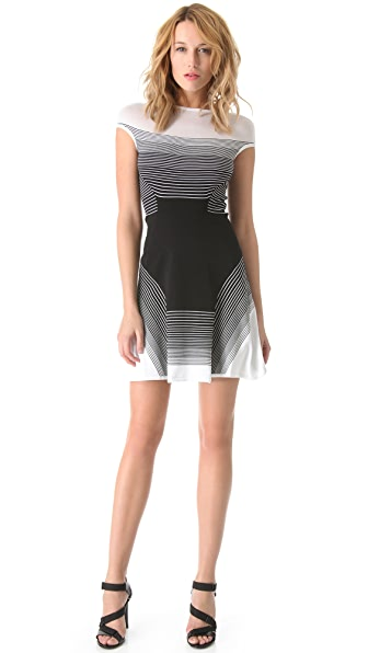 Ohne Titel Ombre Stripe Knit Dress