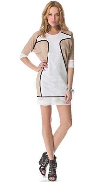Ohne Titel Mesh Netting Shift Dress