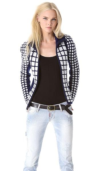 Ohne Titel Grid Jacket