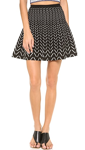 Ohne Titel Chevron Skirt