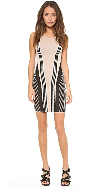Ohne Titel Vertical Stripe Dress