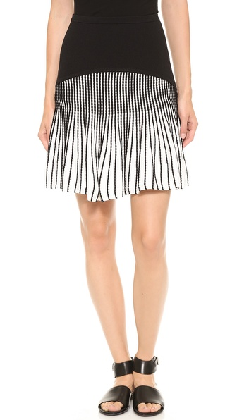 Ohne Titel Knit Stripe Skirt