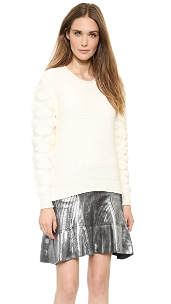 Ohne Titel Tufted Knit Pullover