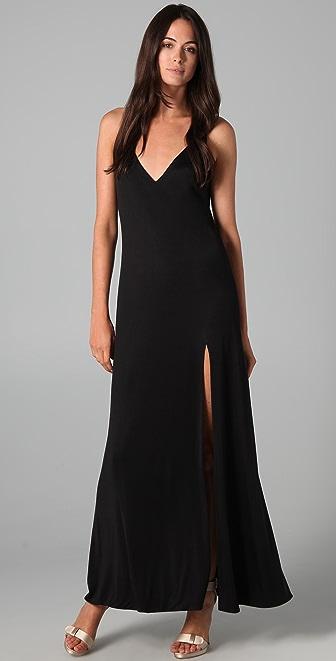 Olcay Gulsen High Split Dress