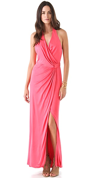 Olcay Gulsen Silk Jersey Maxi Dress