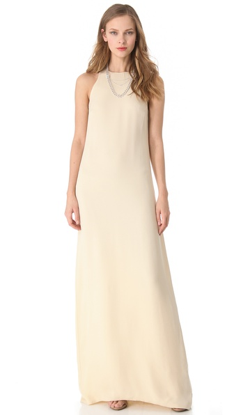 Olcay Gulsen High Neck Dress