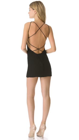 Olcay Gulsen Cross Back Tank Dress